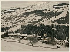 07 Endlich, Ende Februar kommt nochmals ein wenig Schnee