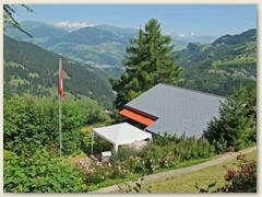 32 Miraval, Sicht auf Ilanz und Region Vorap