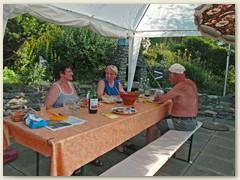 33 Im Juli kamen Doris, Onkel Werner und Lydia