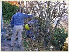 58 In November bekam ich Hilfskräfte - Willi und Marcel -