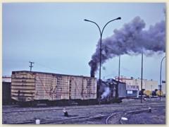 08 Rangieren im Hafenareal von Rio Gallegos