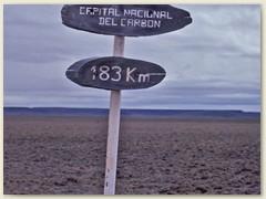 18 Noch ein weiter Weg bis ans Ziel El Turbio, der Kohle-Hauptstadt Argentiniens