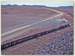 23 1993 bei unserem Besuch - nur noch sporadisch fahren die Züge