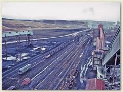 35 Blick vom hohen Turm des Kohlenbergwerkes den wir besuchen - besteigen durften