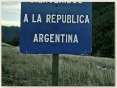 01 Willkommen in Argentinien - mit der Iberia via Madrid - Buenos Aires  nach San Carlos de Bariloche