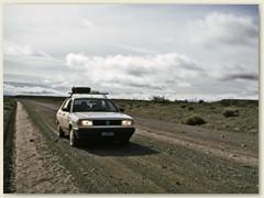 02 Unser Mietwagen - Übernahme in San Carlos de Bariloche und gleich geht's Südwärts