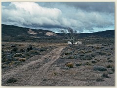 03 Eine lange Fahrt durch die Patagonische Steppe Richtung Südosten. Ziel: die Halbinsel Valdés