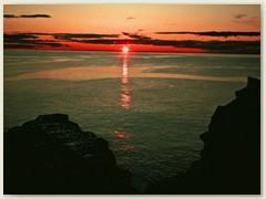 16 Sonnenuntergang bei Pta. Delgada