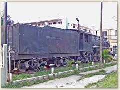 08 In Pedro Sula erinnert eine Maschine daran, dass in Honduras früher Züge fuhren
