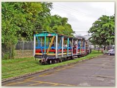 17 Eine Lok, ein Wagen - - Fahrt vom Stadtzentrum an den Meeresstrand
