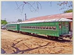 32 Personenwagen auf dem Abstellgleis