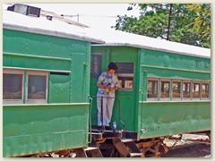 34 Fenadesal,  eigentlich eine Eisenbahn in El Salvador