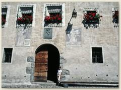 05 Der Eingang, Im Innern war früher eine Folterkammer