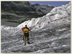 26 Vadret da Morteratsch ist der volumenstärkste Gletscher der Ostalpen