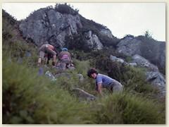 35 Aufstieg im Val Bondasca zur Cab. Sciora auf 2118 m