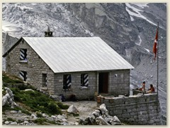 36 Die Capanna di Sciora der SAC Sektion Hoher Rhon ZH