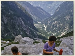 38 Das Val Bondasca. Via Naravedar und Laret nach Promontogno
