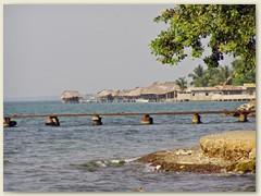 13_Tela, ein einsames Fischerdorf, wird am Wochenende zum Hexenkessel, weil die Honduraner die Wochenenden gerne am Strand verbringen