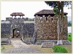 22_Eingang zur Ruinenstadt Copán