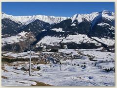 12 Wanderung zum Bergrestaurant Triel, Blick auf Vella