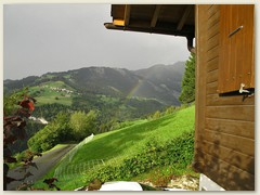 36 29. August 2014, Regenbogen über dem Val da Riein