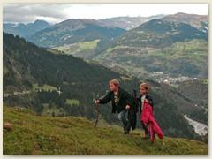 47 Auf dem Weg zur Alp Runca