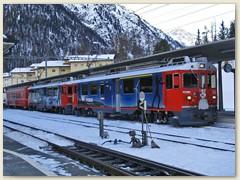 02r Mein Zug:  ABe 56 4/4 Corviglia und ABe 4/4 55 Diavolezza und zwei Wagen AB + B