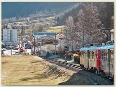 29r Einfahrt in den Bahnhof Poschiavo