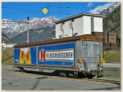 34r Rheinfelden statt Chur (Feldschlösschen / Calanda) Zugfahren macht durstig