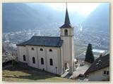 07_Kirche von Eggerberg, und Visp im Talgrund