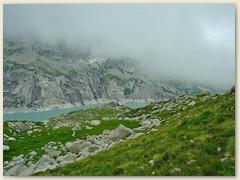 10_Der Albignasee ist ein Stausee in der schweizerischen Gemeinde Vicosoprano im Kanton Graubünden. Der See liegt 2163 Meter über Meer und hat eine maximale Tiefe von 108 m.