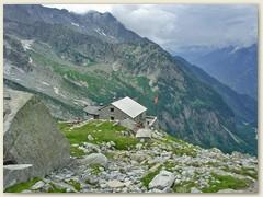 38_Unser Tagesziel - die Capanna di Sciora CAS 2120 m