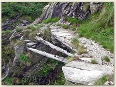 07_Schmal und steil ist der Pfad hinauf zur Alpe Nimi