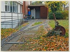 37_Die Dampfbahn Basel wird bis auf Weiteres im Depot stationiert