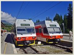 02_Vom Kopfbahnhof Tatranska Lomnica führt eine Bahnlinie nach Strbske Pleso und die andere nach Poprad-Tatry
