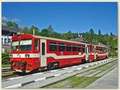 12_Železničná spoločnosť Slovensko ist ein staatliches Eisenbahnunternehmen in der Slowakei