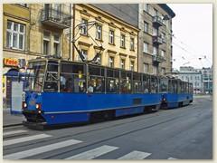 20_Älteres Tram in Krakau