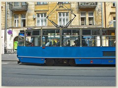 21_Strassenbahn in Krakau
