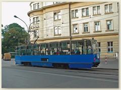 22_Älteres Tram in Krakau
