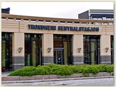 08_Bahnhof Trondheim. Beginn der Nordlandbahn nach BodØ
