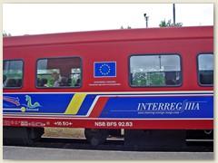 10_NSB BFS Bezeichnung des norwegischen elektrischen Triebzuges