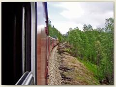 12_Die Nordlandbahn verbindet Trondheim mit BodØ