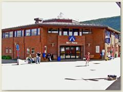 15_Bahnhof Mo i Rana, nur wenige Kilometer südlich des nördlichen Polarkreises
