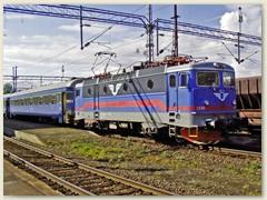 25_Lok der Schwedischen Staatsbahn in Narvik, Norwegen