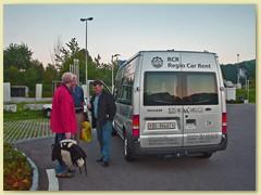 01_Begrüssung vor der Abfahrt Richtung Oesterreich