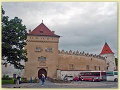 19_Kezmarok, in der Burg befindet sich das Stadtmuseum