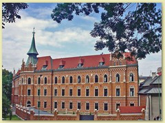 42_Blick auf ein Teil der Burg Wawel in der Altstadt Krakau