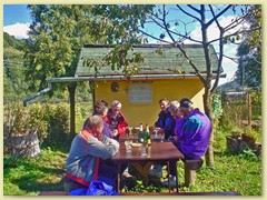 44_Zwei Tage in Muran-Revuca. Wir werden von Amalias Verwandten reichlich bewirtet