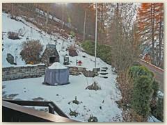 46_Auf der Terrasse hält der Winter langsam Einzug