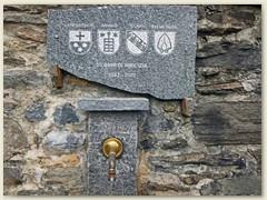 18_Dorfbrunnen, der an 30 Jahre Freundschaft erinnert